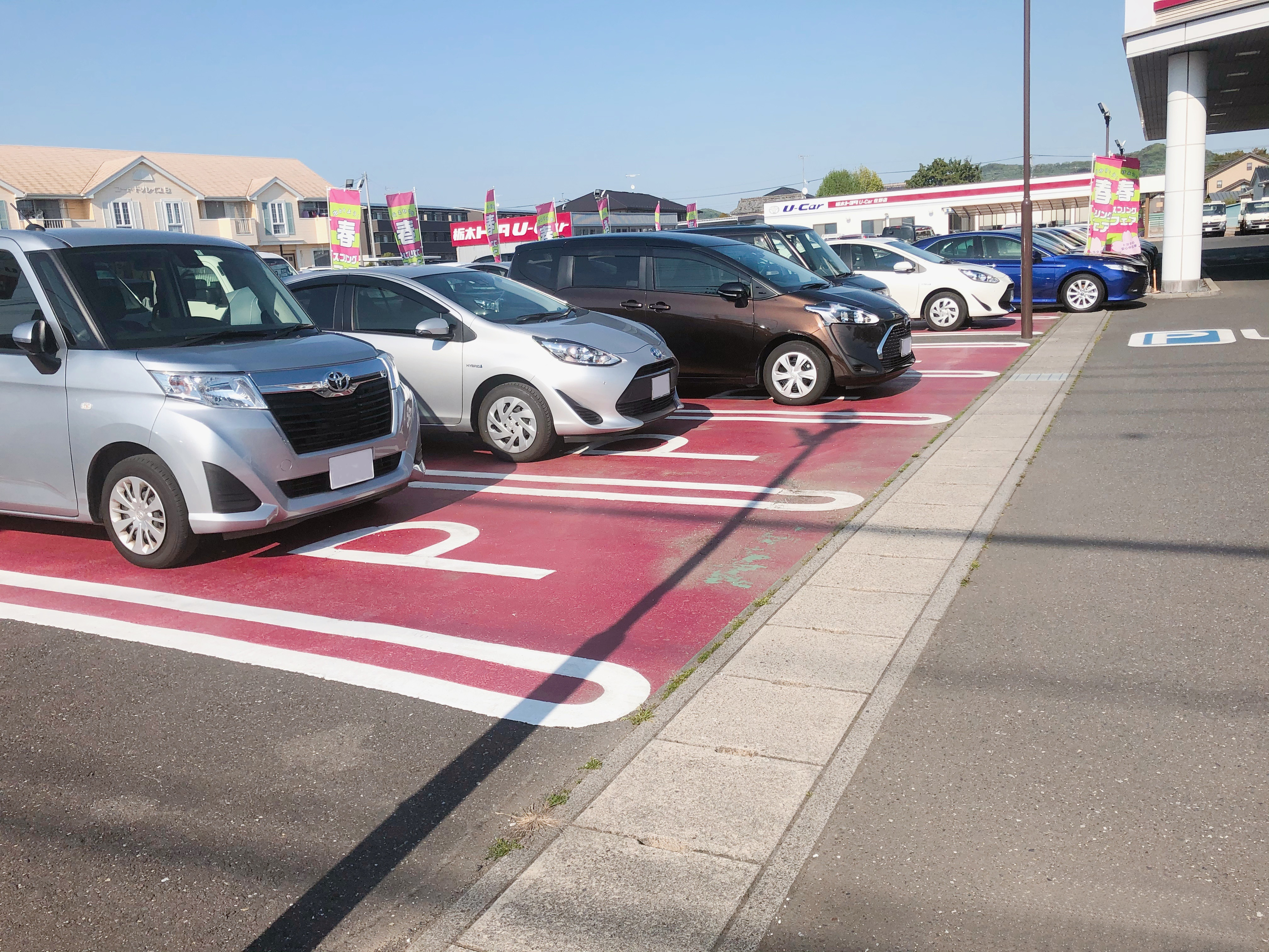 佐野店-駐車場