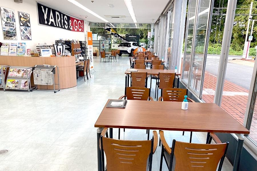 栃木トヨタ_日光店-ショールーム