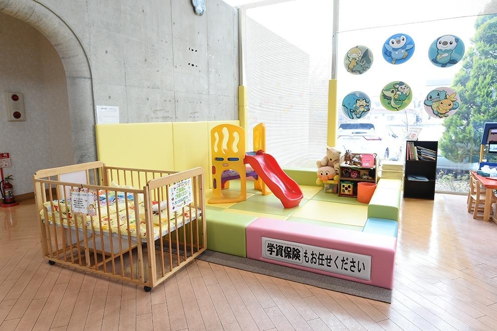 熊谷肥塚支店 ショールーム キッズコーナー写真