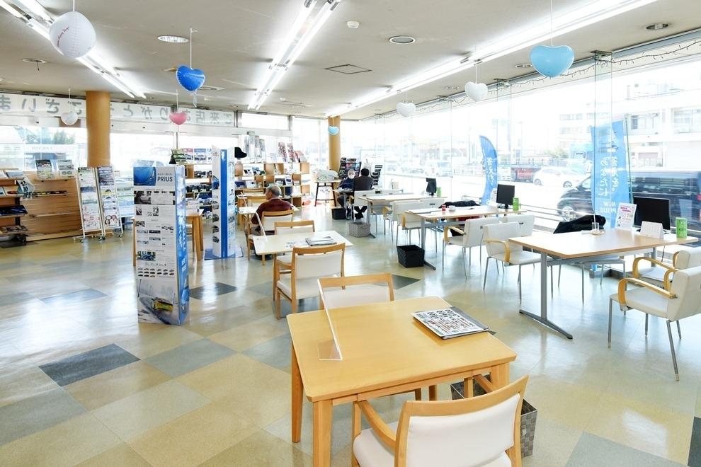 越谷支店 ショールーム写真