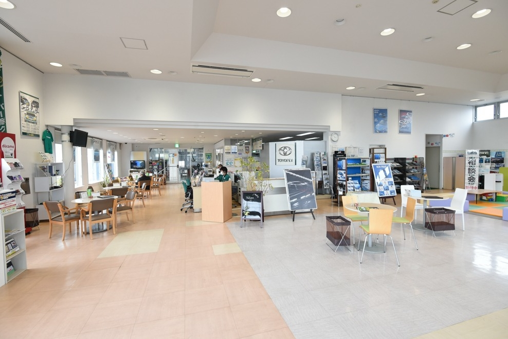 所沢支店 ショールーム写真