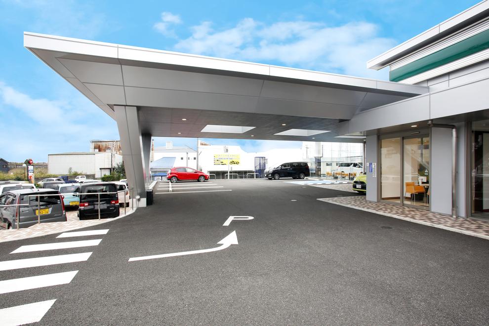 田辺駐車場入口