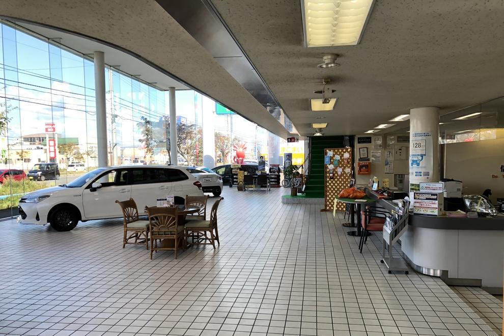 U-Car苫小牧店 店内