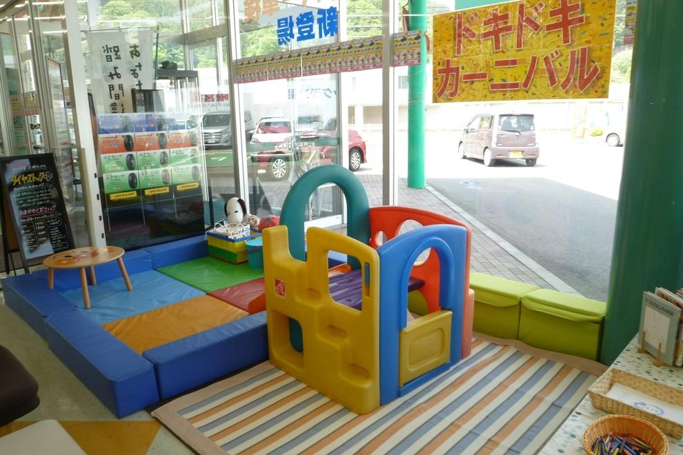 カローラ岩手 釜石店 キッズスペース