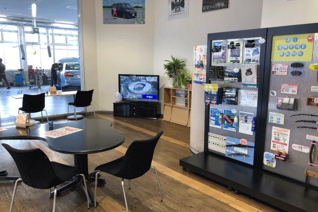 郡山店店内画像‗テレビ待合スペース