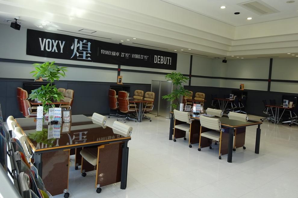 霞ヶ関店商談スペース