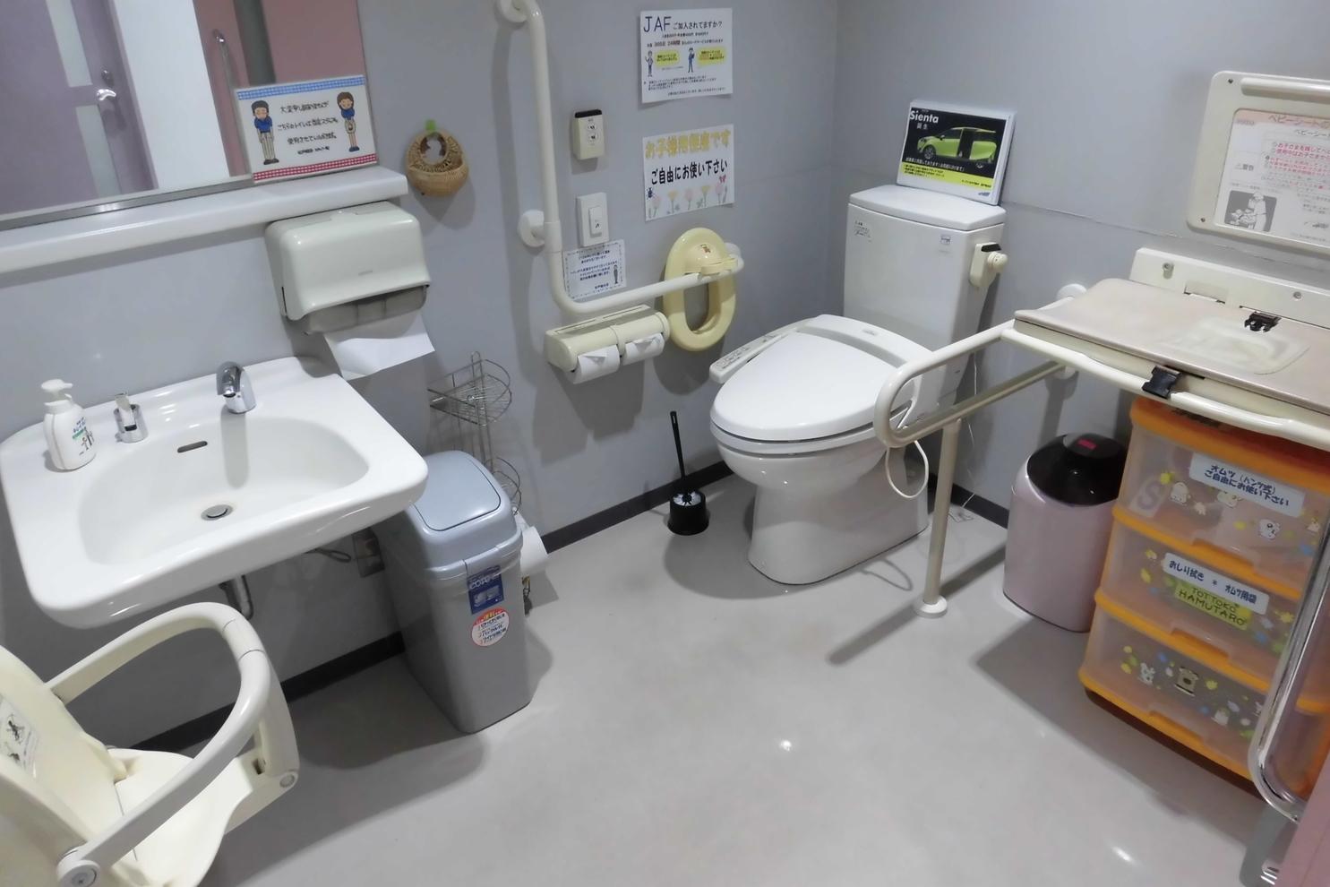 松戸稔台_多目的トイレ