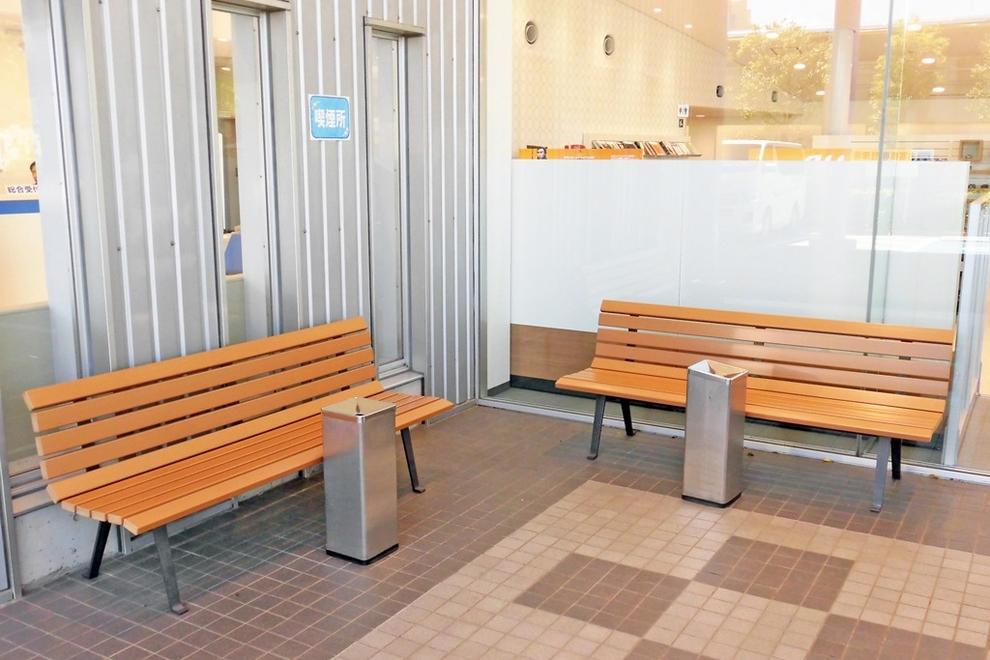 千葉ニュータウン_喫煙コーナー