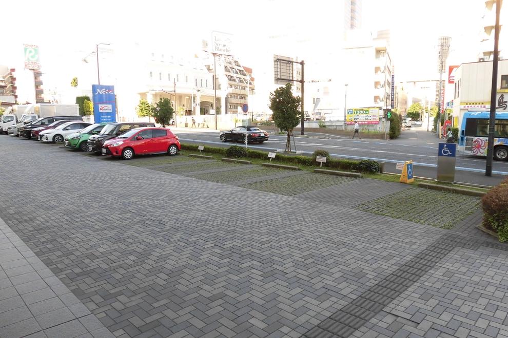 登戸_駐車場