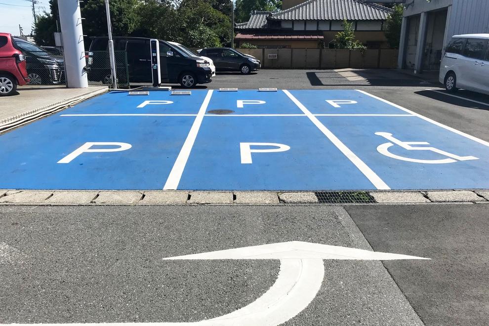 酒々井_駐車場