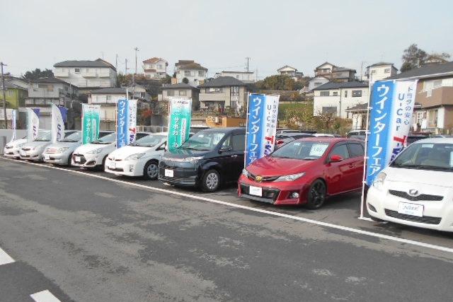 姉崎店_U-Car展示