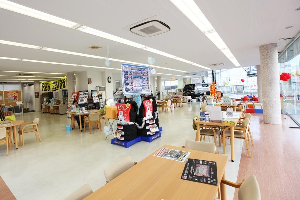 武蔵野台 店内写真