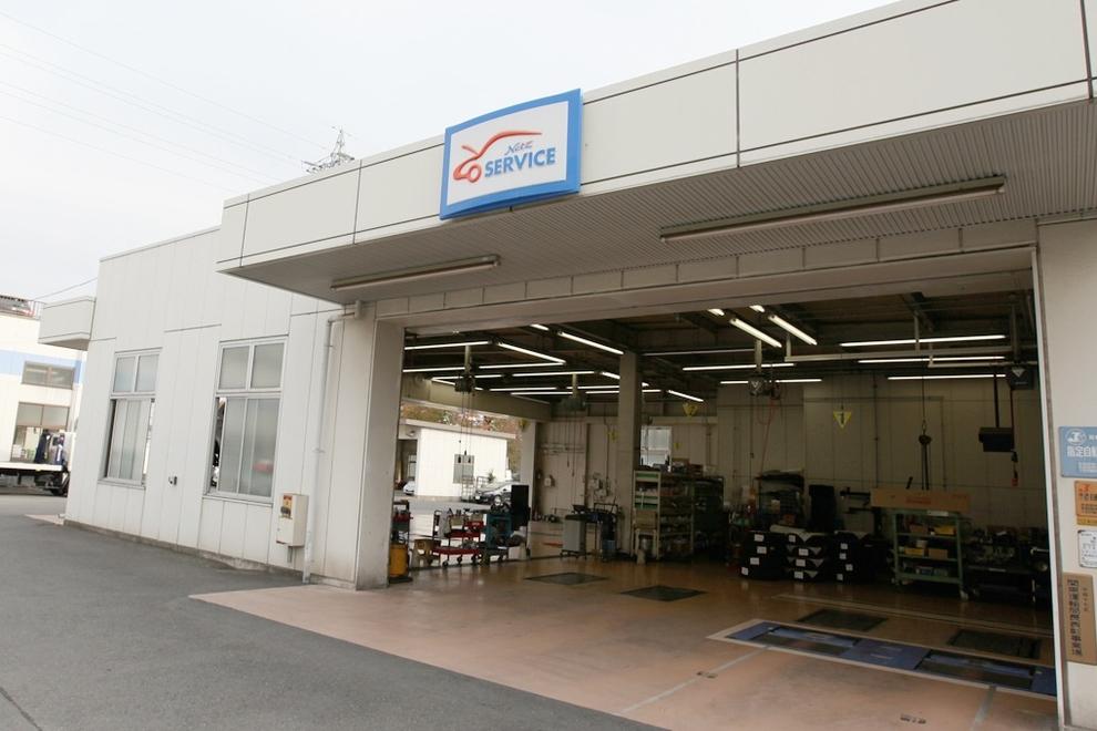 武蔵野台 サービス工場