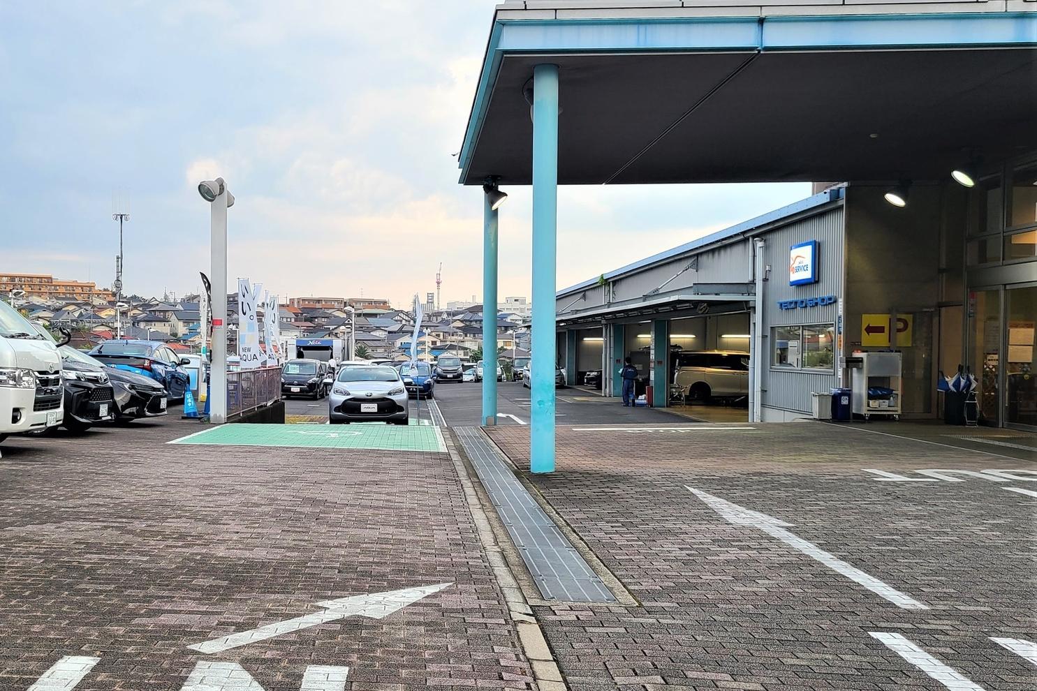 枚方山之上 入口 駐車場