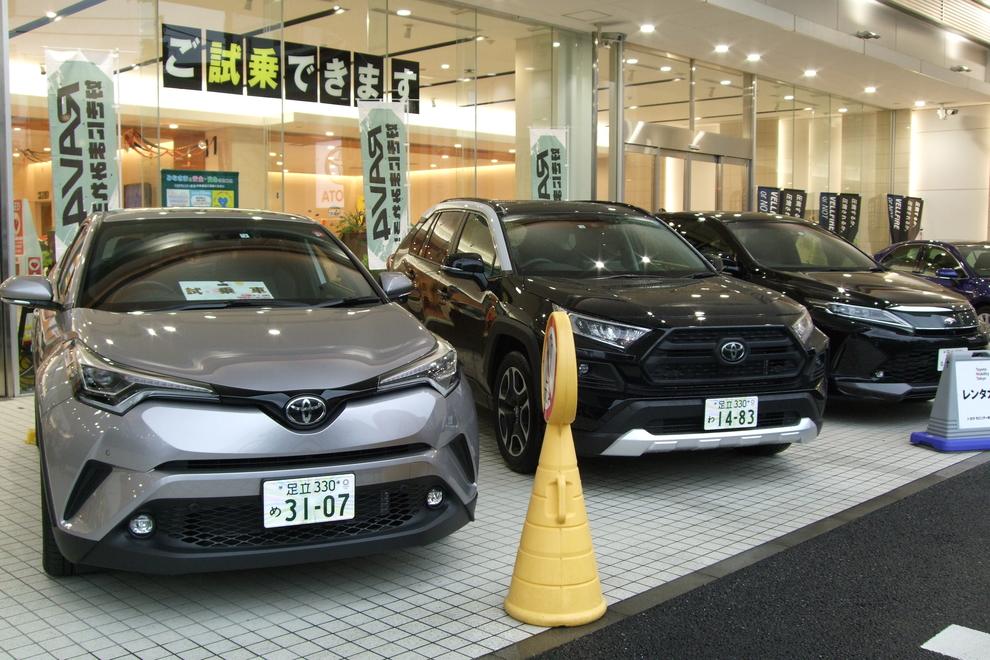 T-プラザ金町店(旧:東京カローラT-プラザ金町店)SUVコーナー